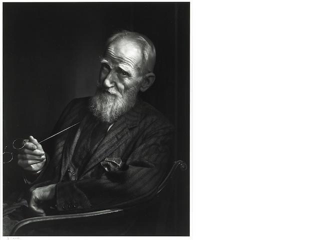Yousuf Karsh (Canadian, 1908-2002); George Bernard Shaw;