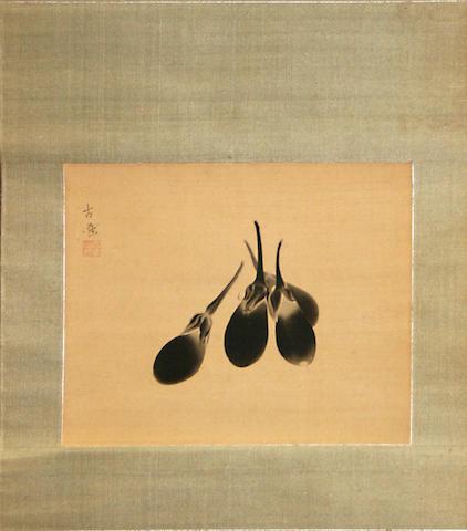 Kobayashi Kokei (1883-1957) Eggplant