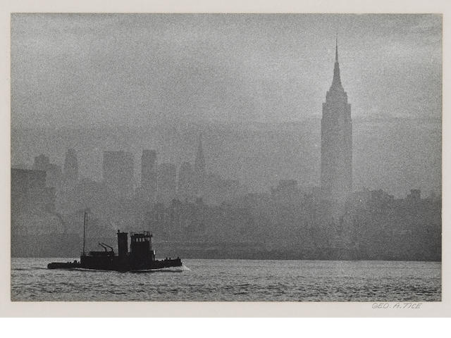 George Tice New York Skyline