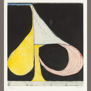 Richard Diebenkorn, Tri-Colored Spade, 1982