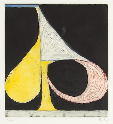 Richard Diebenkorn, Tri-Colored Spade, 1982