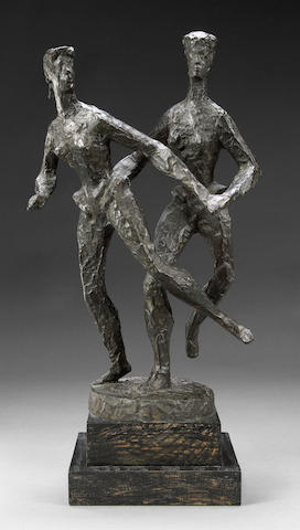 Chaim Gross, Dancers, bronze