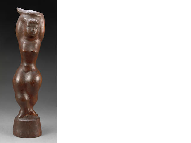 Chaim Gross Nude 1967 sculpture
