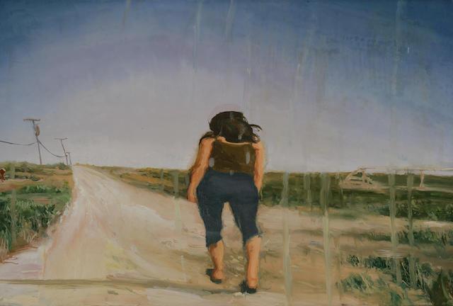 Steve Mumford (American, born 1960) Untitled (Reflection 1), 2001 16 1/8 x 24in (41 x 61cm)