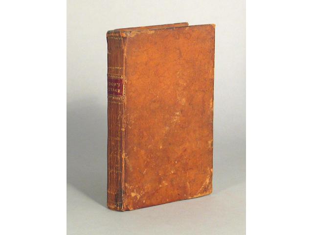 LEDYARD, JOHN. 1751-1789.