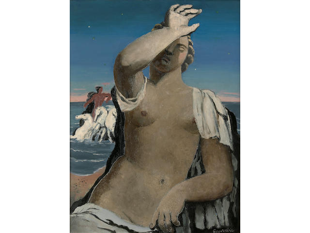 Jean Souverbie (French, 1891-1981) L'aurore, 1929 28 3/4 x 21 3/4in (73 x 51.5cm)