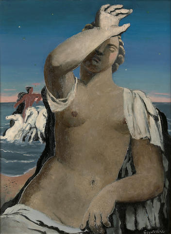 Jean Souverbie (French, 1891-1981) L'aurore, 1929 28 3/4 x 21 3/4in (73 x 51.5cm)