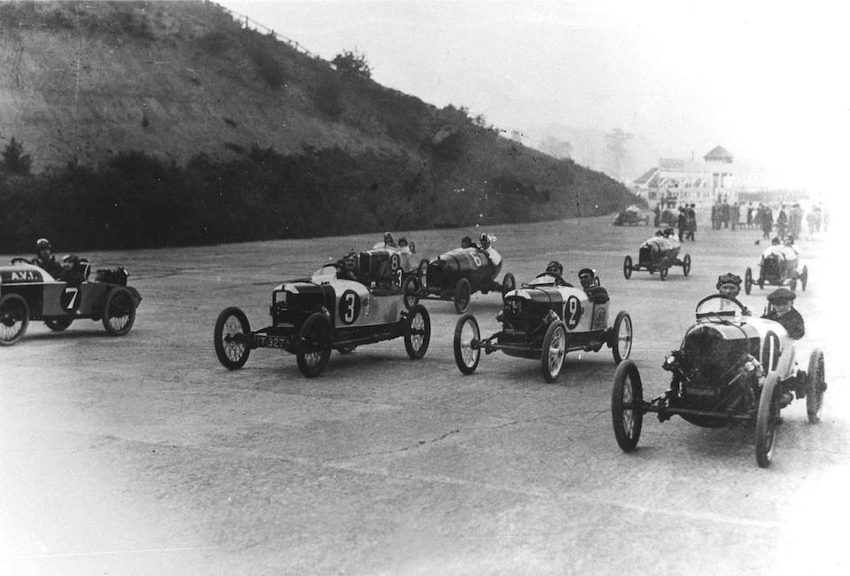 The ex-Godfrey, Brooklands 200 Mile Race 3rd Place and GN Team Award winning,1922 GN 'Akela' 1,100cc 200 Mile Racer  Chassis no. 3093