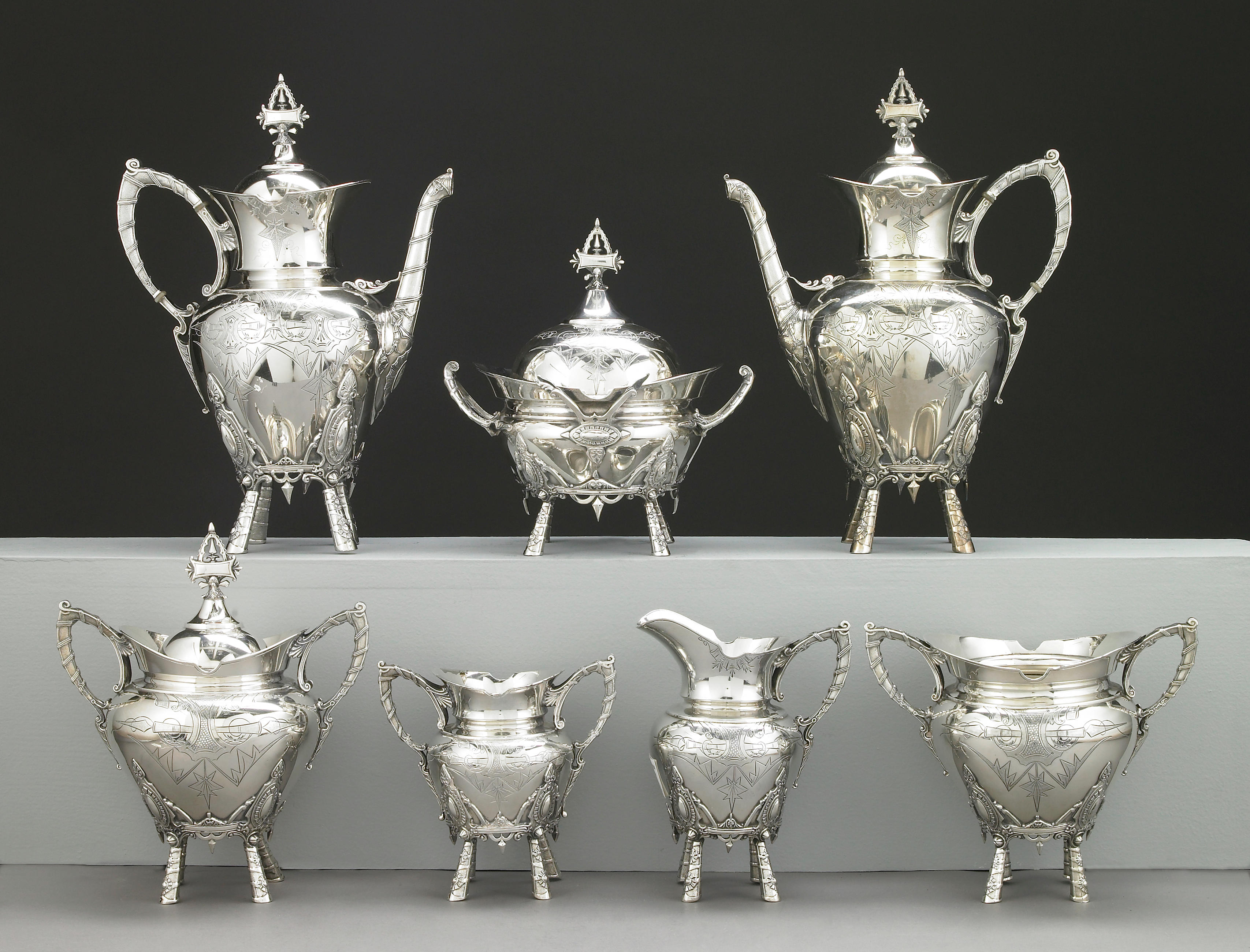Middletown Plate Company tea and coffee set