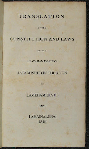 [CONSTITUTION OF HAWAII.]