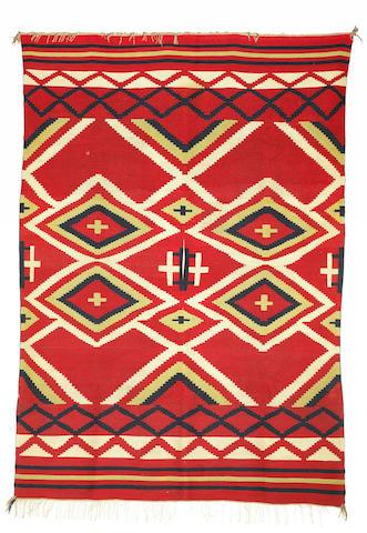 A classic Navajo poncho sarape