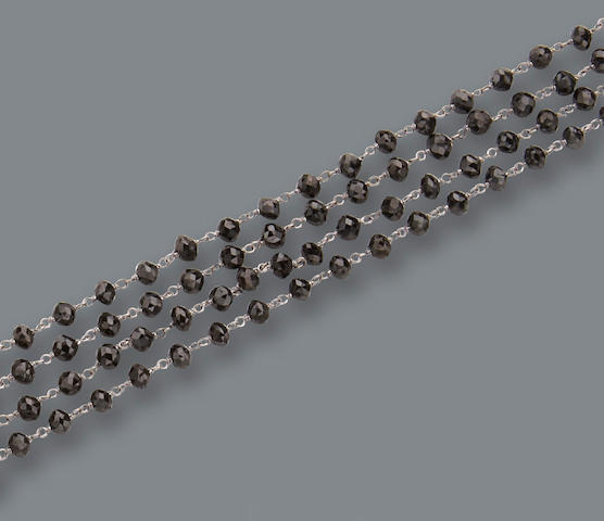 A black diamond longchain