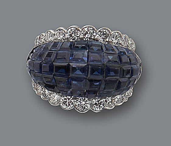 A sapphire and diamond ring, Van Cleef & Arpels