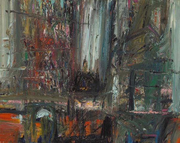 Wayne Thiebaud (American, born 1920) Interior Figure 24 x 30in (61 x 76cm)