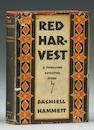 Hammett. Red Harvest. NY: 1929. 1st ed.