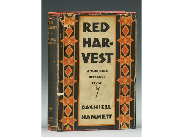 HAMMETT, DASHIELL.  1894-1961.