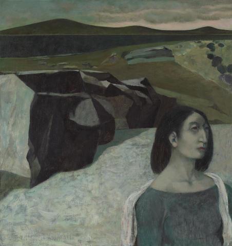 Richard Haines, oil