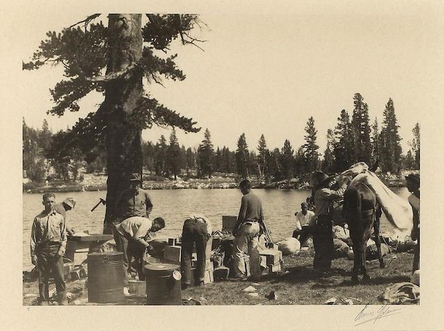 Ansel Adams (American, 1902-1984); Sierra Club Commissary, Yosemite National Park;