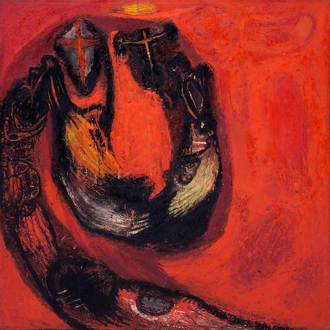 Frank Lobdell (American, born 1921) Summer, 1962 70 x 71 1/2in (178 x 181cm)