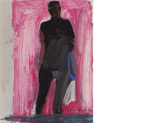 Manuel Neri (American, born 1930) Standing Nude, 1980 12 x 9 1/4in (30 x 23cm)