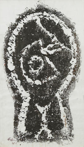 Mark Tobey (American, 1890-1976); Head;