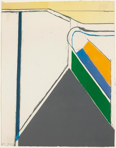 Richard Diebenkorn (American, 1922-1993); Untitled (Ocean Park);