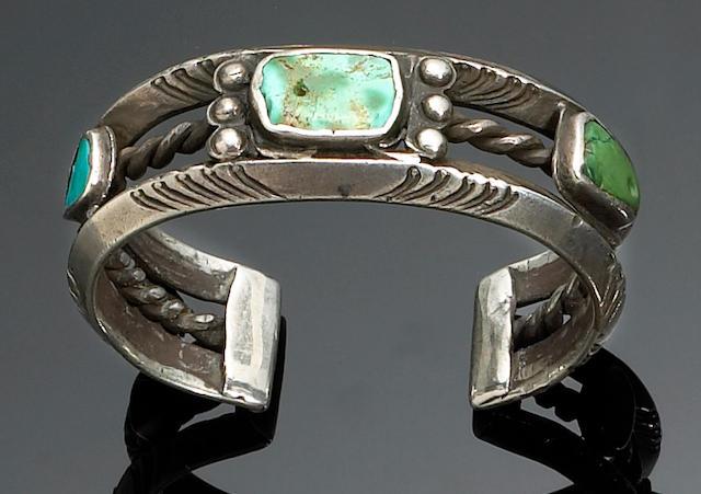A Navajo bracelet