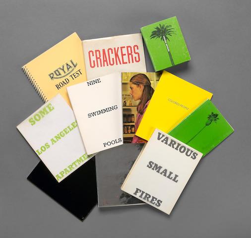Edward Ruscha (American, born 1937); A group of eleven artist's books; (11)