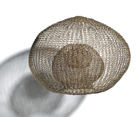 Ruth Asawa (American, born 1926) Untitled, c. early 1970s diameter 16in (40cm)<br>height 13in (33cm)