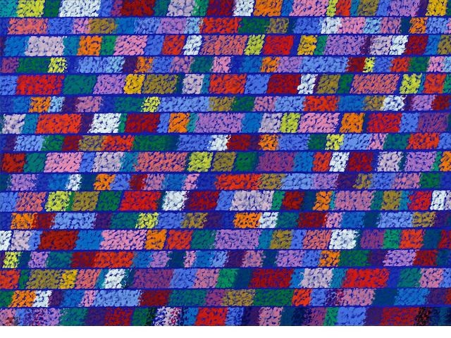 Piero Dorazio (Italian, 1927-2005) Tattile, 1980 25 1/2 x 35 1/2in (64.8 x 90.2cm)