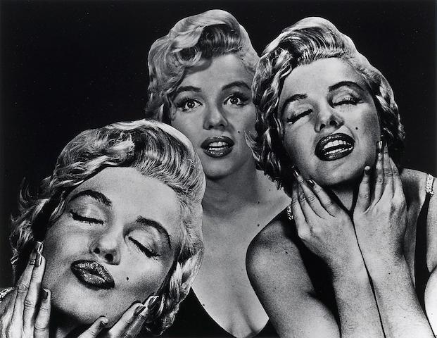 Philippe Halsman (American, 1906-1979); Halsman/Marilyn;