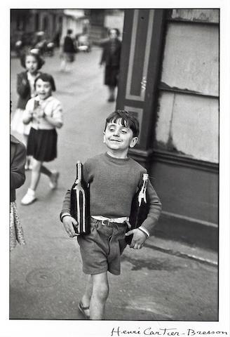 Henri Cartier-Bresson (French, 1908-2004); Rue Mouffetard;