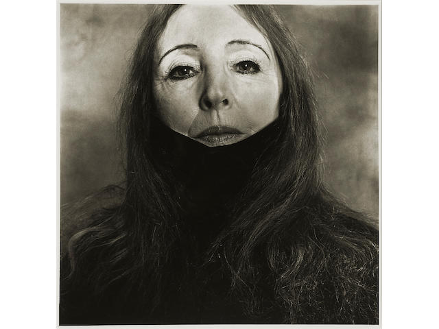 Irving Penn (American, born 1917); Anaïs Nin, New York;