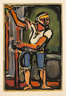 Georges Rouault (French, 1871-1958); Pêcheur, from Passion;