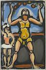 Georges Rouault (French, 1871-1958); Pierrot Noir; Jongleur; Dors Mon Amour, from Cirque de L'Étoile Filante ; (3)