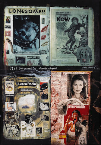 Peter Beard (American, born 1938); Cassis and Beyond, Diary;