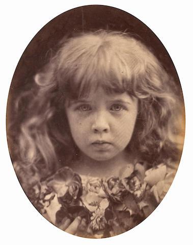 Julia Margaret Cameron (British, 1815-1879); The Christ Kind (Margie Thackeray);