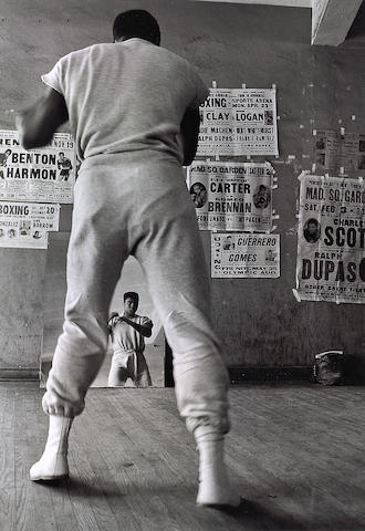 Flip Schulke (American, born 1930); Muhammad Ali training, Fifth Street Gym;