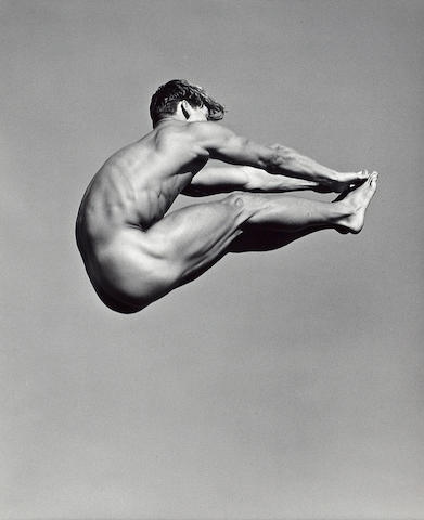 Bruce Weber (American, born 1946); Paul Wadina, Pt. Conception, Santa Barbara, California;
