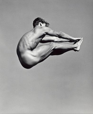 Bruce Weber (American, born 1946); Paul Wadina, Pt. Conception, Santa Barbara, California;