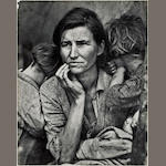 Dorothea Lange (American, 1895-1965); Migrant Mother, Nipomo, California;