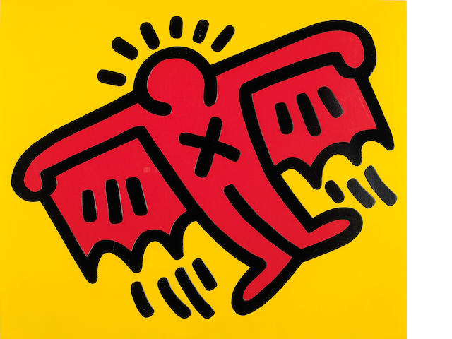 Keith Haring (American, 1958-1990); Untitled from Icons;