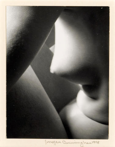 Imogen Cunningham (American, 1883-1976); Triangles;