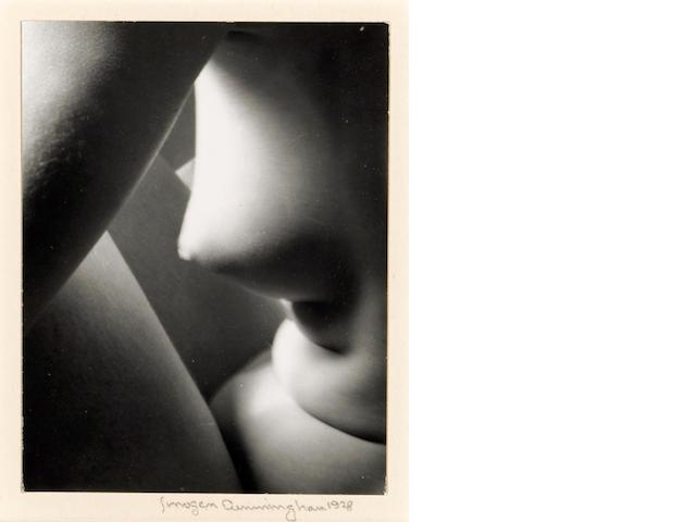 Imogen Cunningham (American, 1883-1976); Triangles;