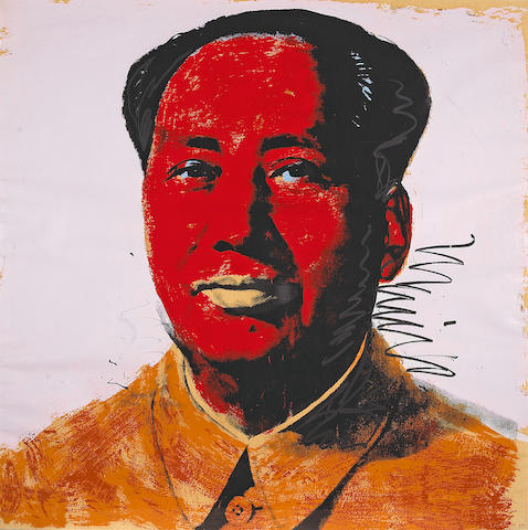Andy Warhol (American, 1928-1987); Mao;