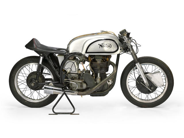 1957 Norton Manx Engine no. 11M76910
