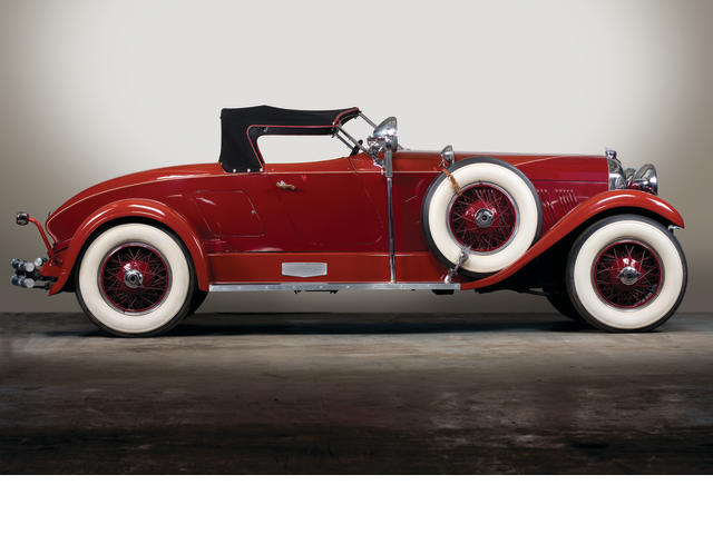 Believed to be formerly owned by (Sir) Malcolm Campbell,1928 Auburn 115S Boattail Speedster  Chassis no. 2849569 Engine no. 22969