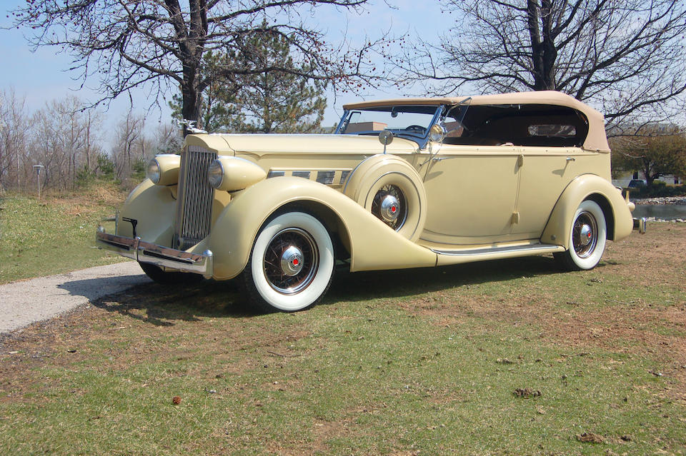 1935 Packard Series 1204 Super Eight Phaeton  Chassis no. 7557020