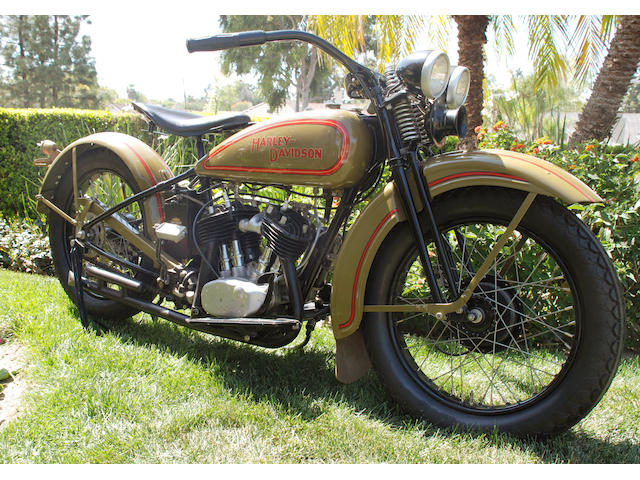 The ex-Steve McQueen,1929 Harley-Davidson 45ci DL Engine no. 29DL7459
