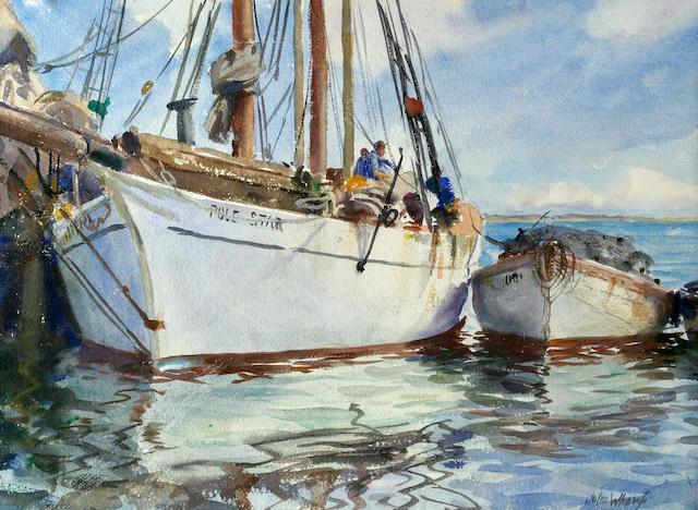 (n/a) John Whorf (American, 1903-1959) Pole Star 15 3/4 x 22 1/2in